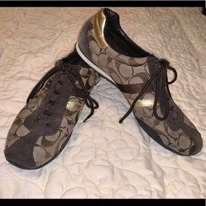 Women's Coach Sneakers Size 10